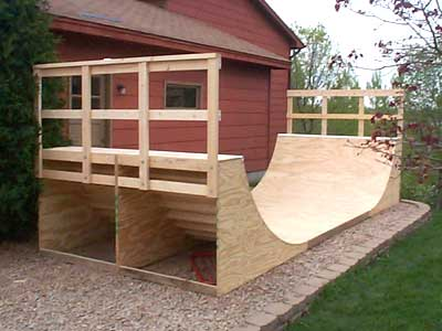 Free Skate Ramp Plans | Building Skateboard Ramps